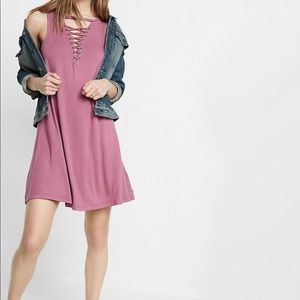 Express Lace Up Dress
